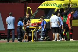 Xisco Campos sufre un traumatismo craneoencefálico de grado 1