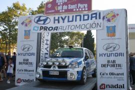 Fernández y Gálvez ganan el Rallye Vall de Sant Pere