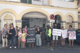 Los vecinos de Génova piden más seguridad vial