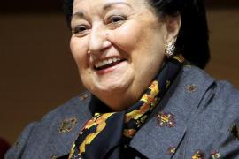 Montserrat Caballé, ingresada en el Hospital de Sant Pau de Barcelona