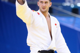 Nikoloz Sherazadishvili, primer campeón mundial español de judo en -90 kilos