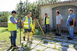 Últimos pasos para 'desocupar' la carretera vieja de Lluc a su paso por Pollença