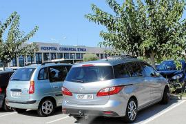 El Hospital Comarcal d'Inca duplicará su aparcamiento a principios del año 2019
