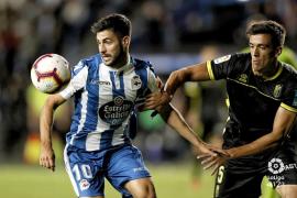El Deportivo saca al Mallorca de la zona playoff