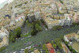 March le recuerda al PP el quinto aniversario de la gran manifestación contra el TIL