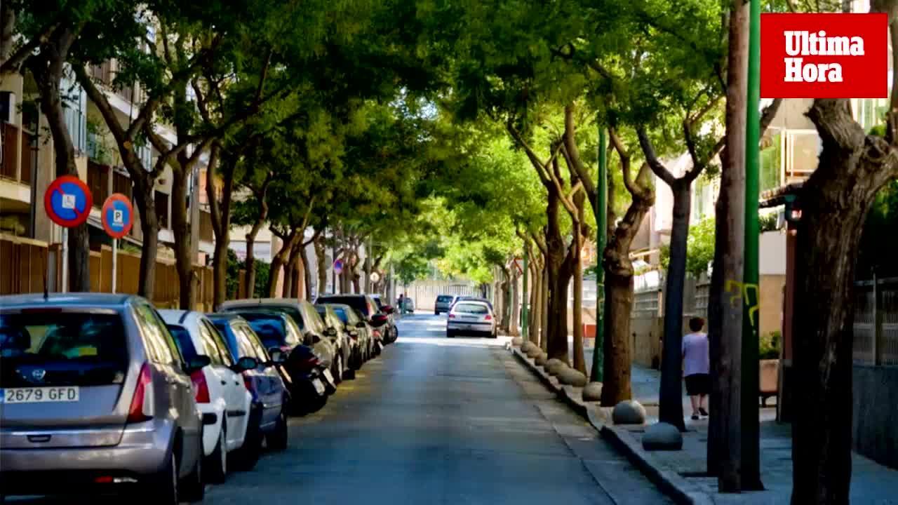 El Ayuntamiento de Palma inicia la limitación de la velocidad a 30 en el Rafal y el Vivero