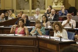 El Parlament balear «constata» que en España no hay presos políticos
