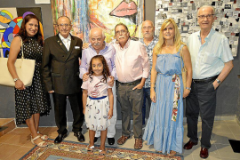 Muestra de pintura, escultura y fotografía en Ciutadà Il·legal