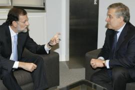 Rajoy se reúne con Tajani