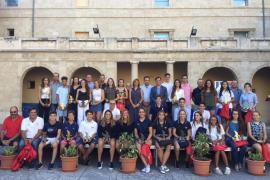 El Consell de Mallorca reconoce los méritos deportivos de unos 40 jóvenes