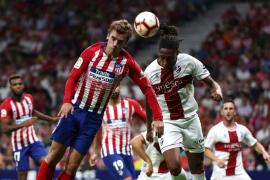 El Atlético golea al Huesca
