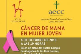 'Cáncer de mama en mujer joven', una jornada divulgativa en Palma