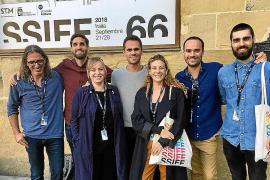 Delegación balear en el Festival de Cine de San Sebastián.