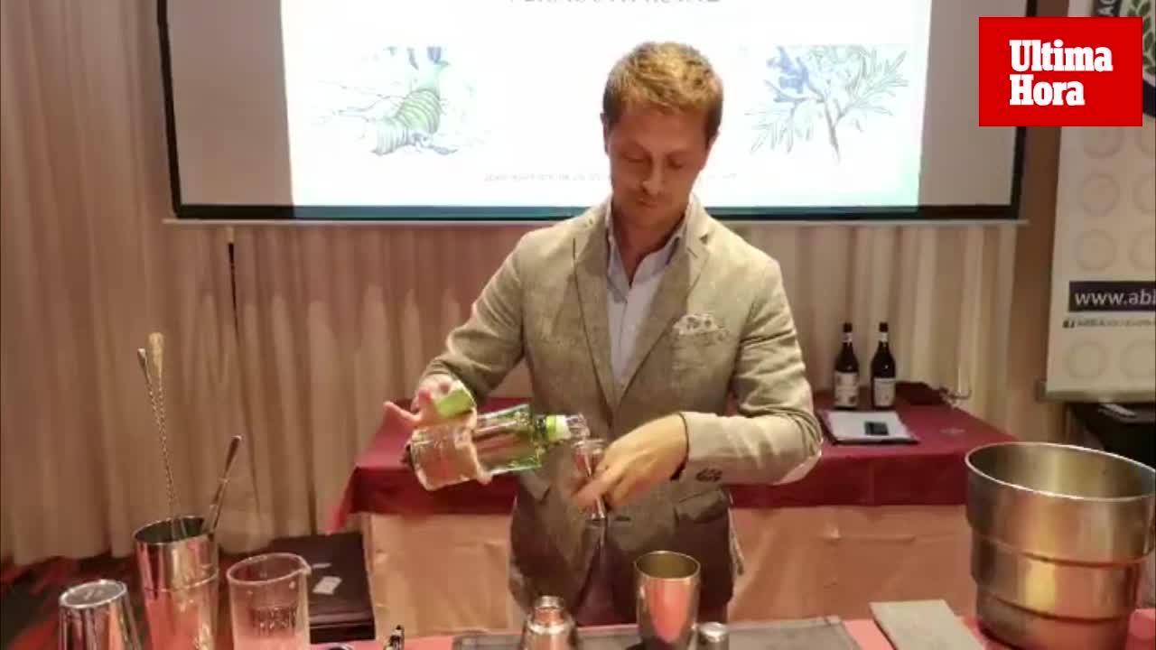 Masterclass de David Ríos, mejor bartender del mundo en 2013