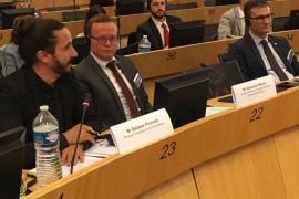 Picornell reivindica en Bruselas la protección de las lenguas minoritarias