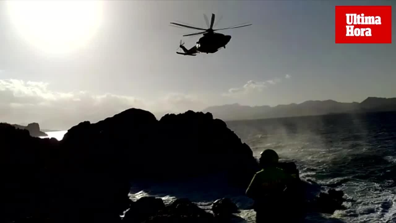 Un hombre en estado crítico tras precipitarse por un acantilado de Alcúdia