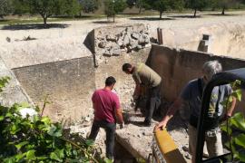 Finaliza sin resultado la exhumación de la fosa de Montuïri y el lunes empieza en la de Sencelles