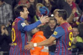 Alexis Sánchez vive su primera gran noche en el Camp Nou (4-0)