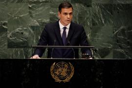 Sánchez dice en la ONU que no es tiempo de «mensajes nacionalistas o excluyentes», sino de «escuchar al otro»