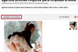 Detenido por chantajear a dos jóvenes de Palma tras un casting de 'pornochachas'