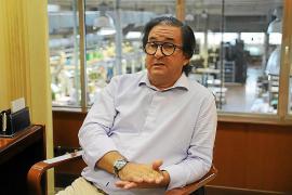 Juan Carlos Fernández de Salort, presidente de la Asociación de Calzado de Menorca