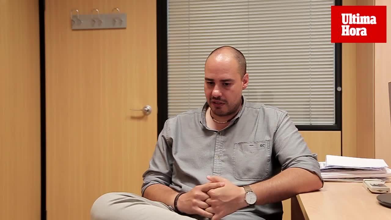 El periodista Antonio Pampliega: «Soy quien soy por las personas que han pasado por mi vida»