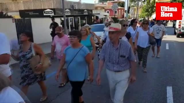 Vecinos de Cala Mayor y Sant Agustí reclaman que son «las barriadas de Palma más abandonada por los políticos»