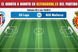 Lugo-Real Mallorca, en directo