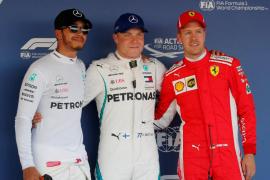 Bottas atrapa la 'pole' en el Gran Premio de Rusia