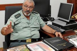 Jaume Barceló, coronel jefe de la Guardia Civil