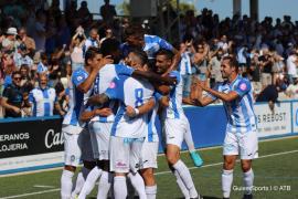 El Atlético Baleares recupera la sonrisa