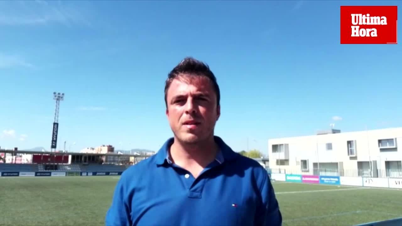 Tolo Jaume:«El Baleares finaliza su racha de malos resultados, aunque con dificultades»