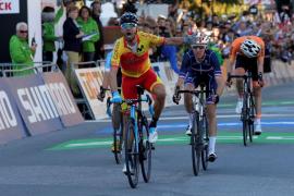 Alejandro Valverde, campeón del mundo de ciclismo