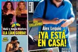 Buenas noticias para Álex Lequio