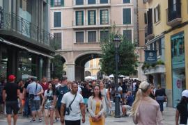 El centro histórico de Palma soporta 90.000 personas al día