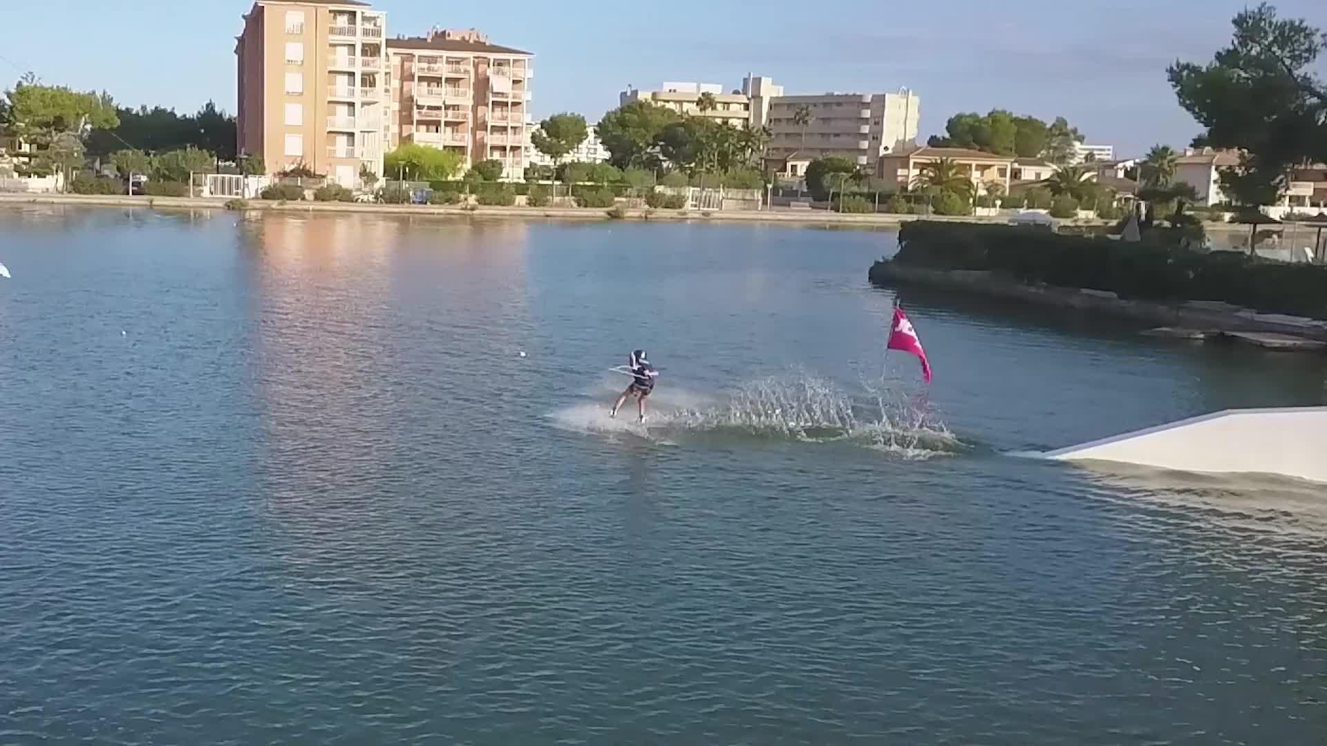 Daniel Martini Faldón, campeón de Wakeboard en Baleares