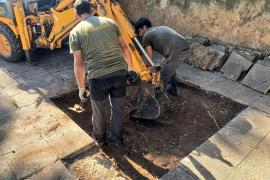 Inician la búsqueda de tres represaliados republicanos en el cementerio de Sencelles