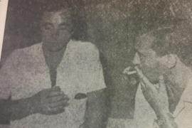 Aznavour visitó Mallorca en 1966