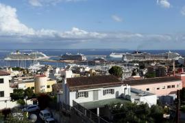 Unos 843.000 viajeros pasan por los puertos de Baleares en 354 cruceros en tránsito hasta julio