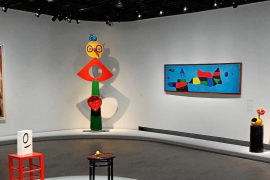 Los colores y las formas de Miró vuelven al Grand Palais tras cuarenta y cuatro años