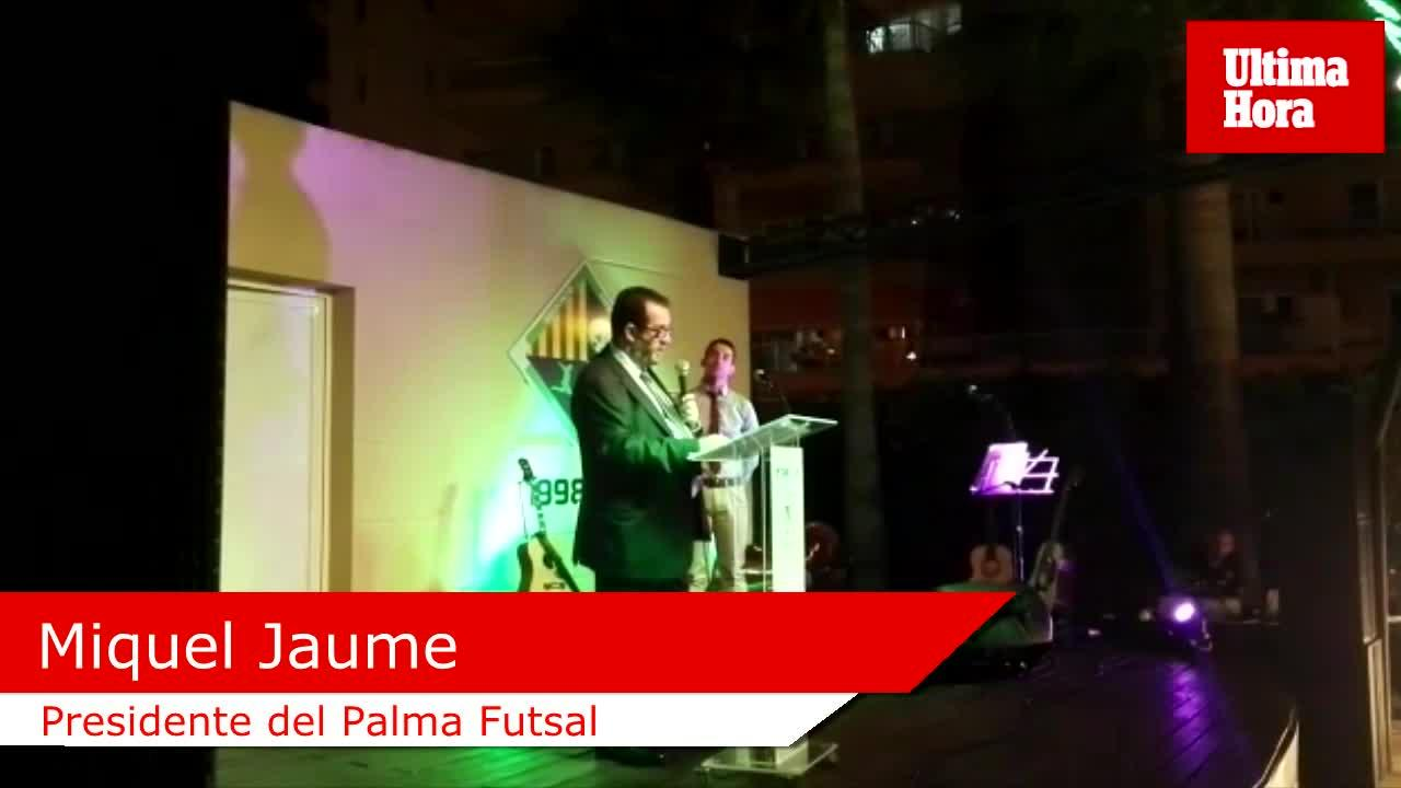 El Palma Futsal se viste de gala
