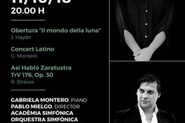 Segundo concierto de la Temporada 17/18 de la Orquestra Simfónica en el Auditórium de Palma