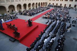 La delegada del Gobierno en Baleares quiere más mujeres en las plantillas y mandos de la Policía Nacional
