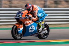 Augusto Fernández seguirá en el Mundial de Moto2 en 2019
