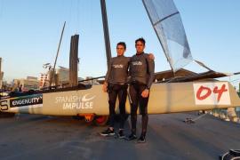 Albert Torres vuela en las Extreme Sailing Series de Qingdao