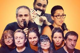 Los ganadores del segundo concurso de cómicos de la Sala Delirius suben a escena en el Fesjajá