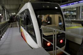El tren eléctrico Palma-Inca empezará a circular en enero