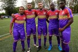 El Clapton FC y 'su' camiseta de la República Española que no es suya