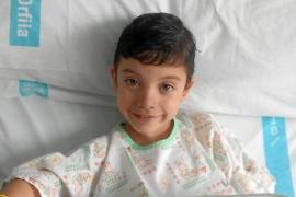 Llamamiento desesperado de la madre de un niño menorquín con leucemia