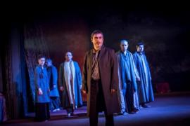 'Èdip', una adaptación de la tragedia griega de Sófocles, en el Auditori de Manacor